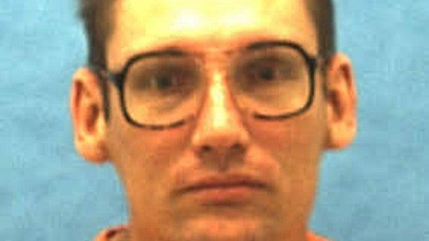 El preso ejecutado en Florida, Eddie Davis