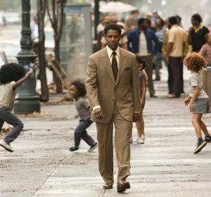 Denzel Washington para Ridley Scott