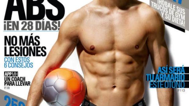 Cristiano Ronaldo, portada de Men´s Health