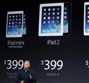 Distintos tipos de iPad
