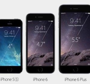 iPhone 6 comparado con el 5S