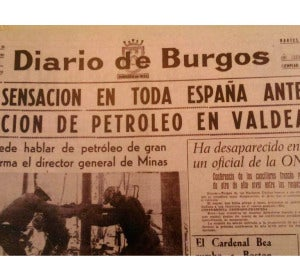 Petróleo en Valdeajos