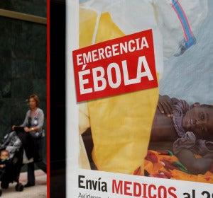 Campaña de ayuda contra el ébola
