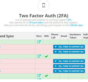 Two Factor Auth