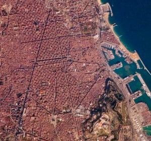 Barcelona desde el Earth Observatory