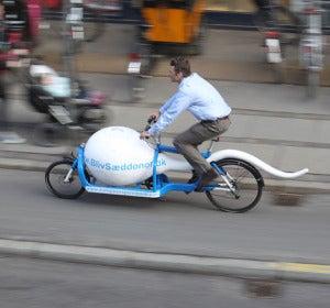 Bicicleta esperma