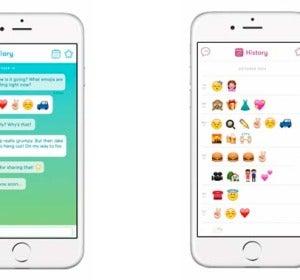 Emoticonos en la aplicación Emojari