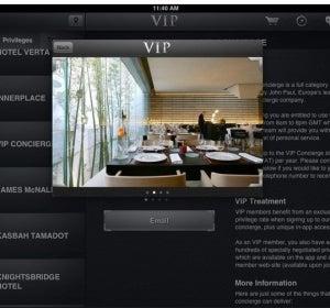 Aplicación VipBlack