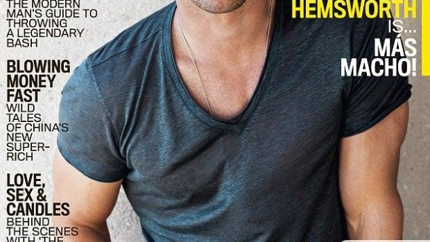 Portada de GQ protagonizada por Chris Hemsworth