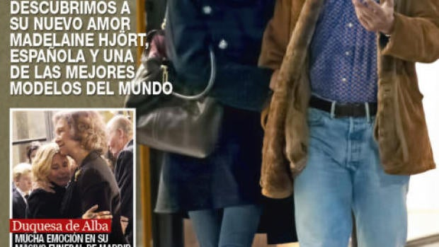 Luis Medina y su nueva pareja