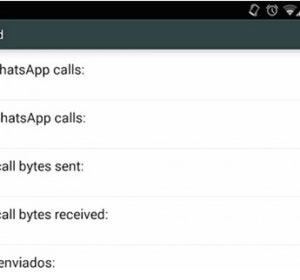 Actualización de llamadas WhatsApp