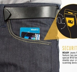 Pantalones antihacker