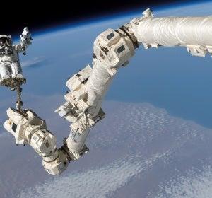 Brazo robótico de la ISS