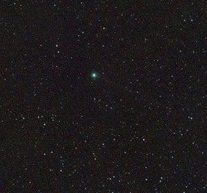 Trayectoria del cometa Lovejoy durante el mes de enero
