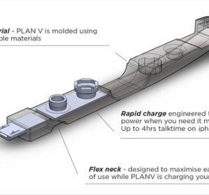 Infografía con la batería para móviles