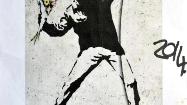 Dibujo de Banksy