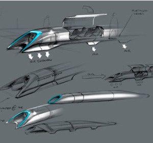 Vehículo Hyperloop