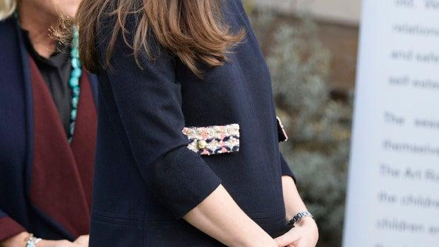 Kate Middleton presume de embarazo de seis meses