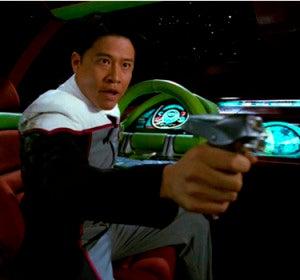 Las pistolas láser son la principal causa de muerte en la serie