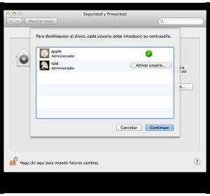 Seguridad y privacidad en Mac