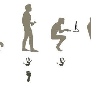 Evolución humana hasta 3D Rudder