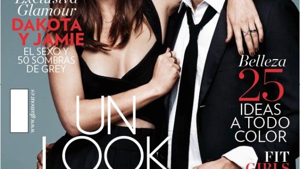 Jamie Dornan y Dakota Johnson para Glamour