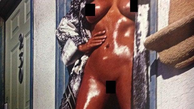 Kim Kardashian se desnuda para la revista Love Magazine