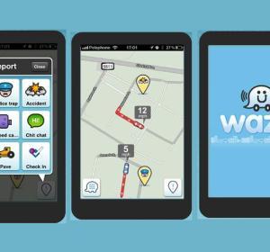 Aplicación de Waze