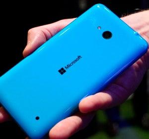 Microsoft Lumia 640 de color azul