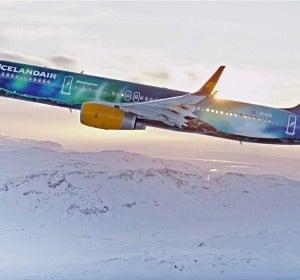 Icelandair Aurora Boreal