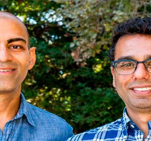 Anish Acharya y Jeson Patel