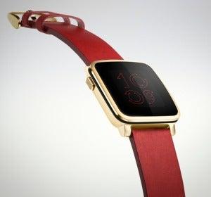 Modelo de smartwatch Pebble