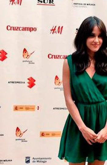 Macarena García en la presentación de 'Palmeras en la Nieve'