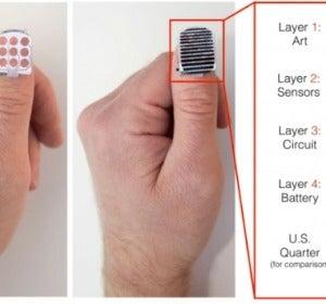 Usa tu uña como trackpad