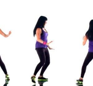 Último movimiento para mover las caderas con Zumba