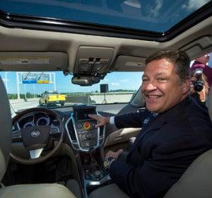 El coche inteligente de la Universidad Carnegie Mellon