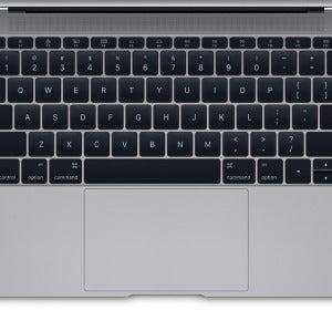 Teclado y trackpad del nuevo MacBook