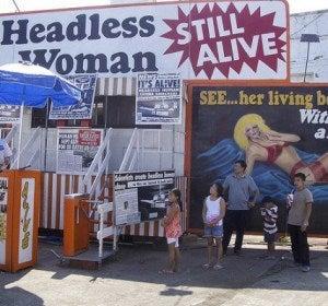 Mujeres y hombres sin cabeza, ¿el futuro de los ciberataques o solo un espectáculo circense?