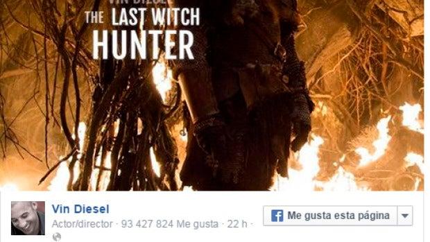 Vin Diesel en 'El último cazador de brujas'