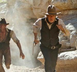 Daniel Craig y Harrison Ford en 'Cowboys & Aliens'