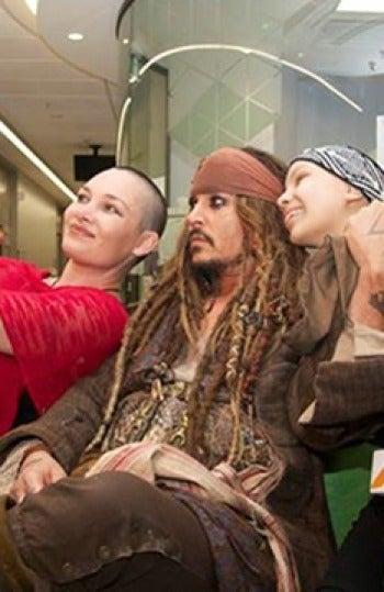 Jack Sparrow en Brisbane