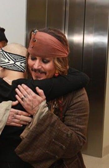 Jack Sparrow en un hospital de Brisbane