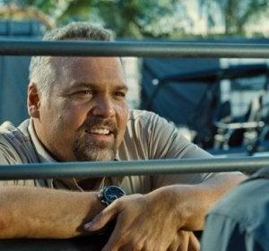 Hoskins de InGen en 'Jurassic World'