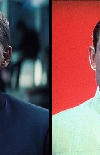 El parecido de Christoph Waltz con el Dr. No de Joseph Wiseman