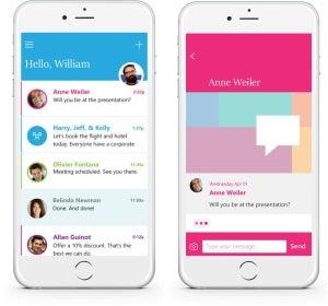 Send permite que mandes emails como si fueran 'whatsapps'