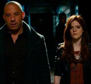 Vin Diesel y Rose Leslie