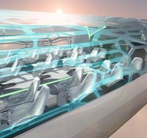 Airbus 2050 Concept Cabin