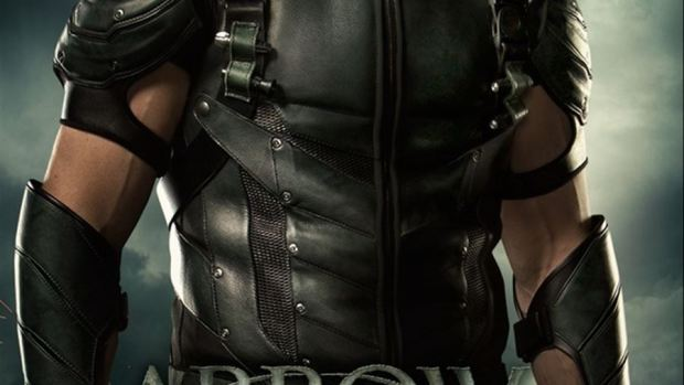 Cartel de la cuarta temporada de 'Arrow'