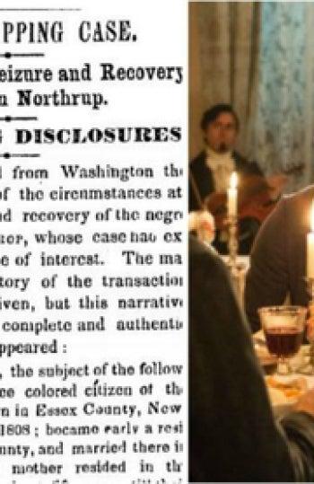 Tras el estreno de la película, el New York Times publicó una corrección a propósito de Solomon Northup, 161 años después de un error que había cometido. Su historia fue contada por el diario el 20 de enero de 1853, sin embargo la publicación se imprimió con dos errores: uno en la cabeza donde se escribe su apellido como 'Northrup' y otro en el cuerpo de la nota donde se lee 'Northrop'