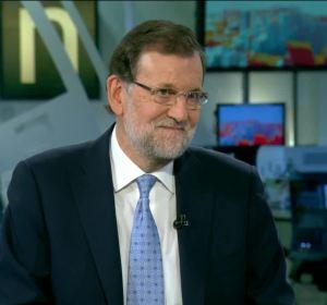 Mariano Rajoy en la entrevista